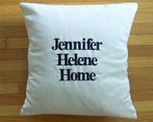 12x16 coordinates pillow with insert