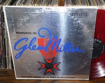 Memories Of Glenn Miller Vintage Vinyl Record
