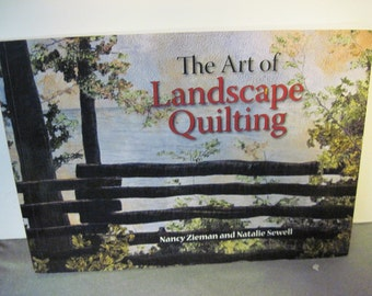 The Art of Landscape quilting by Nancy Zieman and Natalie Sewell Quiltsy destash