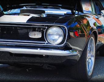 1968 Chevrolet Camaro -  Classic Car - Chevy - Garage Art - Pop Art - Fine Art Photograph