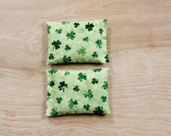 Shamrock Lavender Sachets, St Patricks Day Decor, Irish Green Drawer Sachets, Gifts for Women