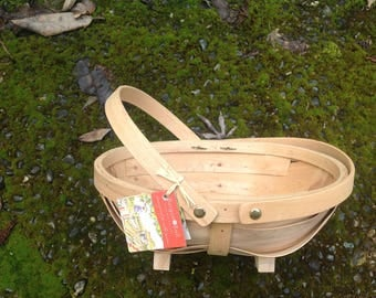 10 Small Wooden Trugs for Easter, Mother's Day or garden gift gaskets