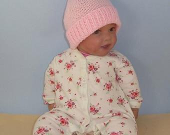 50% OFF SALE madmonkeyknits  Knitting Pattern - Baby Topknot Pixie Hat - Instant Digital File pdf download knitting pattern