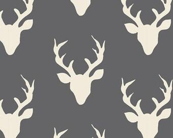Hello Bear Buck Forest Moonstone Art Gallery Fabric
