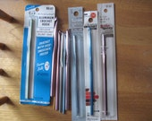 Crochet Hooks Lot of 10 Some New Some Vintage Aluminum Free US Shipping!