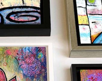 Framed Canvas Print. Custom Framed Wall Art. Framed Custom Art Prints. You Pick Any Print To Be Framed. Floating Frame Art Print