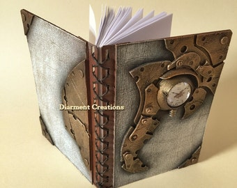 Steampunk Notebook Time Machine
