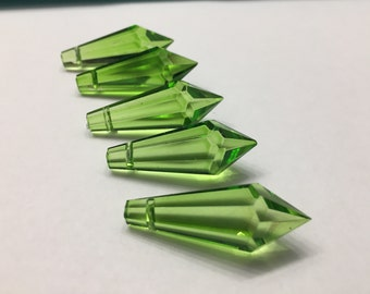 5 - 38mm Spring Green Icicles