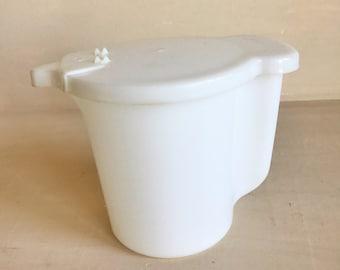 Vintage Tupperware Clear Creamer Pitcher