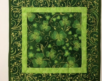 St. Patrick's Day Square Table Topper