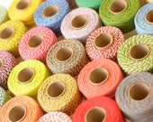 FREE U.S. Shipping - Spool Heavy Twine - 100 Yards - Your Color Choice - 10 Ply Heavy Cotton Twine