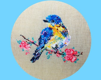 Blossom the Little Bird - CROSS STITCH PATTERN pdf