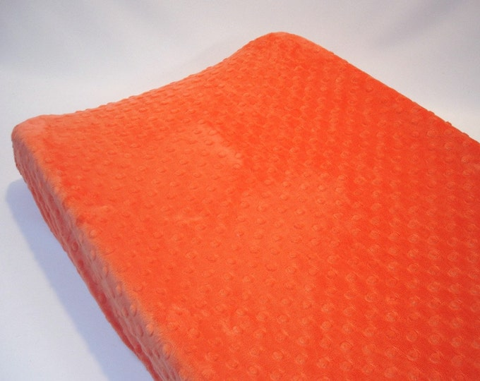 Changing Pad Cover Papaya Orange