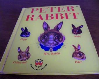 peter rabbit wonder book 1947 beatrix  potter