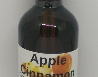 Apple Cinnamon Fragrance Oil - Cosmetic grade for perfumes, soaps,creams, scrubs, etc. - 2oz & 16 oz