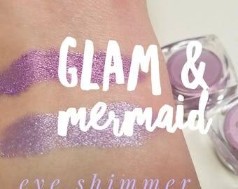 MERMAID Mineral Make up EYE Shimmer - Eye Shadow, Gift for her, Mica Powder 5ml - Medium Purple Shimmer