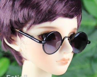 New fashion Dolls sunglasses Glasses fit 1/3 BJD SD Super Dollfie  - Black