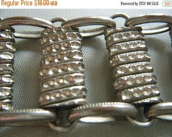 SALE Silver Links Bracelet