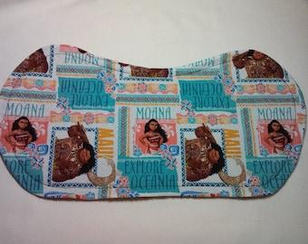 Moana Burp Cloth