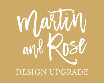 Design Upgrade Add On