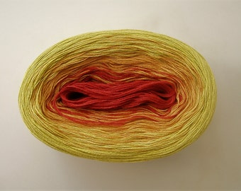 MARGARITA II -- Color Changing Cotton yarn -- 240 yards/50 gr --  Fingering Weight