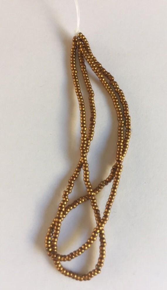 Antique  Metal Micro Beads -  Bronze