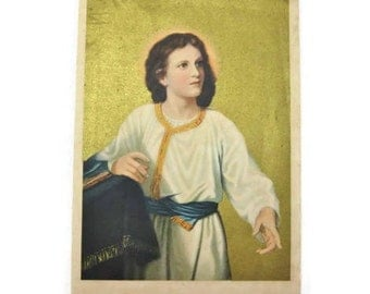 Vintage Print Christ Teaching in the Temple ... Jesus at Twelve