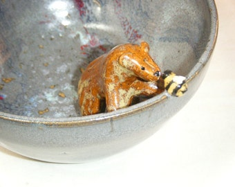Bear Bowl Bee Dish Bumble Bee Brown Bear Honey Bee Galaxy Ursa Minor