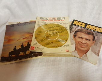 Vintage Country Sheet Music - Elvis Buck Owens Country and Western Songs and more