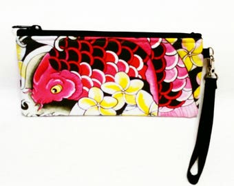 Tattoo Wristlet with artwork by Keahi Raikes