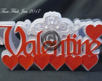 TF0016 Valentine Scroll Template, SVG,MTC,Cricut,Silhouette Cameo,Cricut,ScanNCut