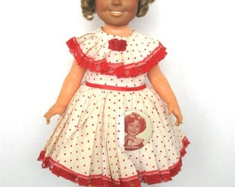1972 Ideal Shirley Temple Doll - 16 inches