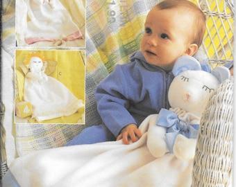 Butterick 3231 Novelty Baby Blanket Patterns (one size)