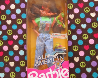 Totally Retro Early 90s All American Barbie Doll-Teresa