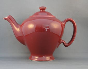 Vintgae McCormmick Tea Baltimore MD 2 Piece Burgandy Made in USA