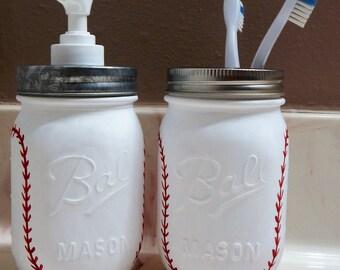Baseball bathroom | Etsy