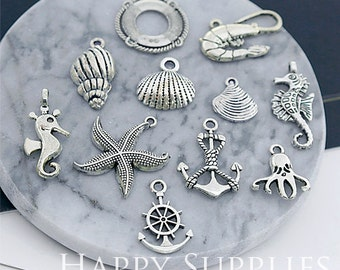 Big Sale -50pcs Small Metal Charm / Metal Part (BS014) - Big Sale - Clearance Sale