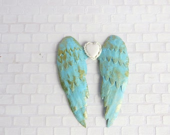 Azure angel wings in 1:12 scale