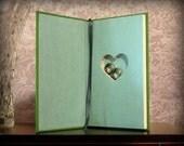 Hollow Book Safe with Heart - A Christmas Carol - Secret Book Safe