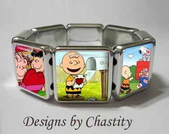 Charlie Brown Bracelet Vintage Forever Be My Valentine