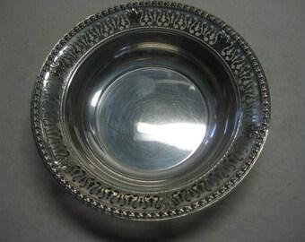 "Vintage Gorham Sterling Silver 5 1/2"" Pierced Bowl A791 61 Grams"