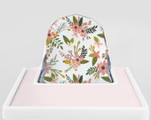 Sprigs and Blooms // IKEA Antilop Highchair Cover // High Chair Cover for the PYTTIG Cushion // Pillow Slipcover