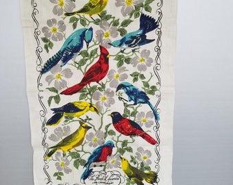 The Birds of America John James Audubon Vintage Tea Towel
