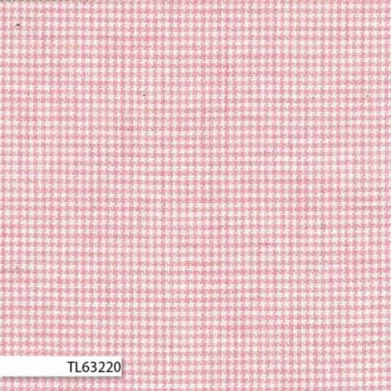 Lecian Melange Cotton Yarn Dyed Fabric - Pink Check