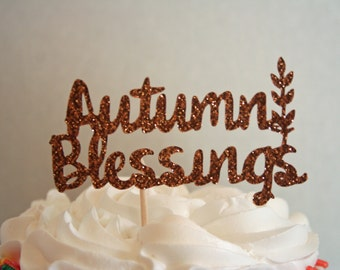 Thanksgiving Cupcake Toppers-Autumn Cupcake Toppers-Food Picks-Fall Decor-Fall Party