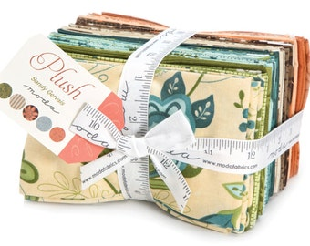 Plush 34 Fat Eighth Bundle by Sandy Gervais for Moda Fabrics 17890F8