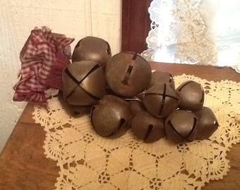 Vintage Bunch of Bells Wall Hanging Door Hanger