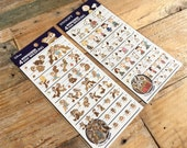 4 Size Snoopy or Chip & Dale sheet of Masking Stickers for scrapbooking, gift message, Bookmark, Packaging, Party favor