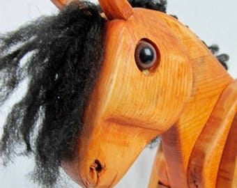 Equine Custom Made Wooden Horse decoration or Toy