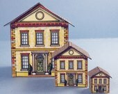 Brick Dollhouse For Your Dollhouse Kit 1:24 Scale